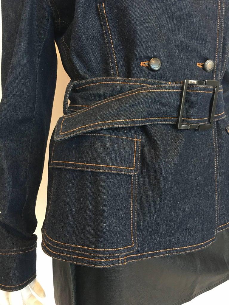 Yves Saint Laurent Denim Jacket, 1990s   For Sale 1