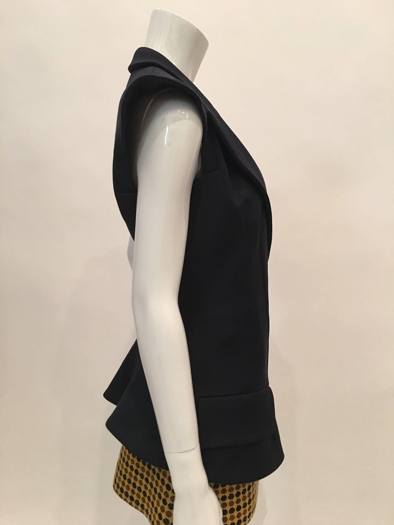 Yves Saint Laurent Wool Vest In Good Condition For Sale In Los Angeles, CA
