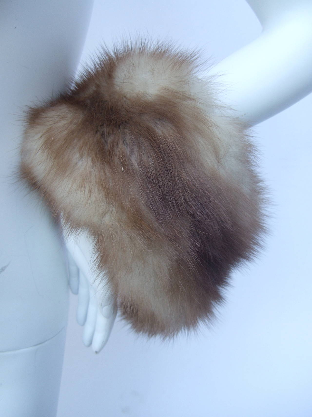 Luxurious Sable Fur Collar And Cuffs Ca 1960 At 1stdibs