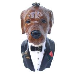 TIMMY WOODS Beverly Hills Whimsical Wood Labrador Artisan Handbag