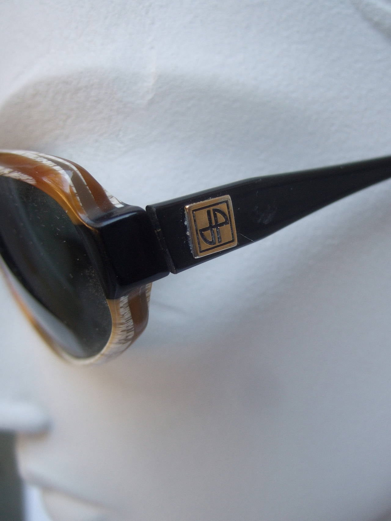 Jean Patou Paris Stylish Sunglasses Made in France For Sale 1