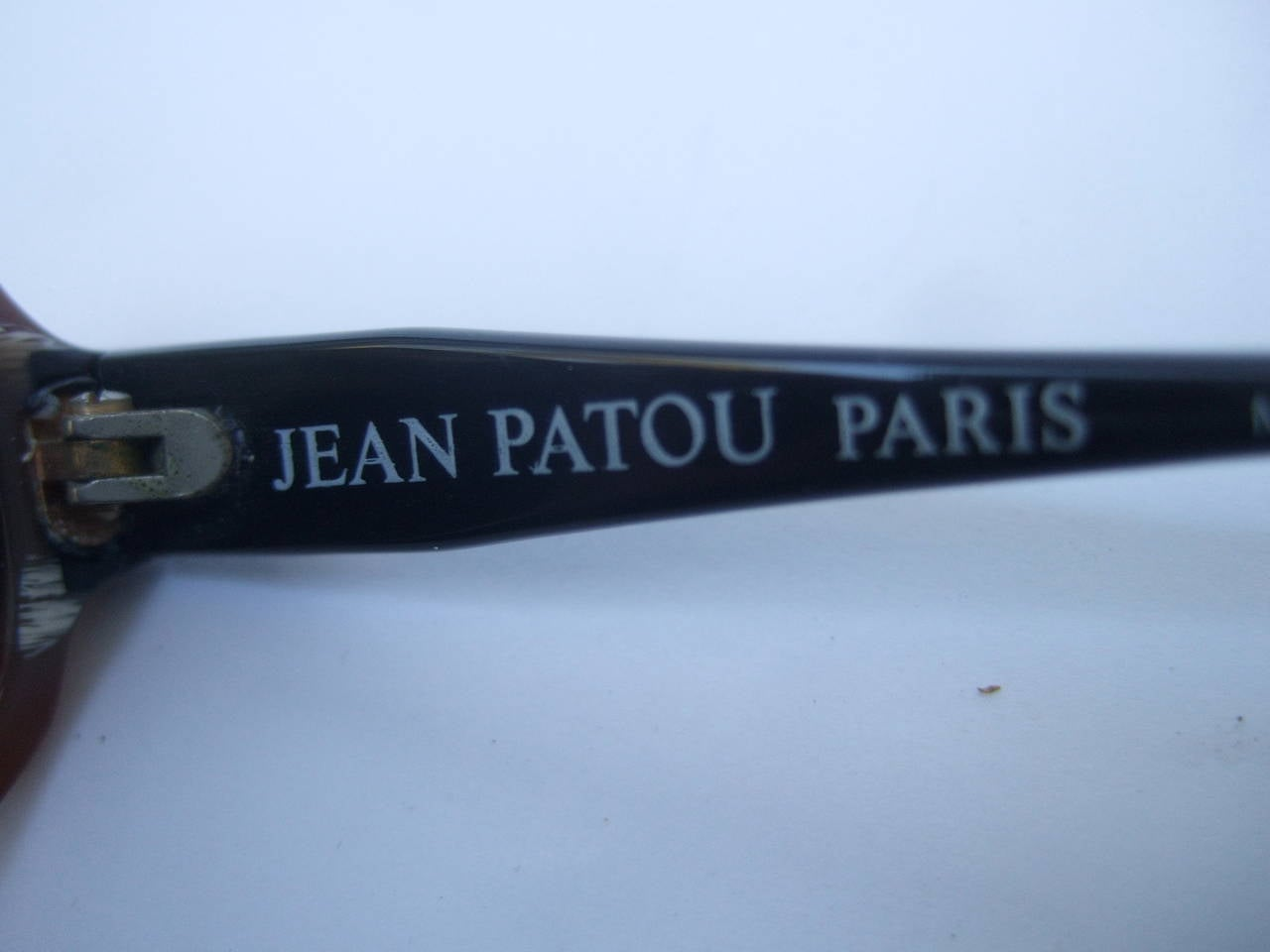 Jean Patou Paris Stylish Sunglasses Made in France For Sale 2