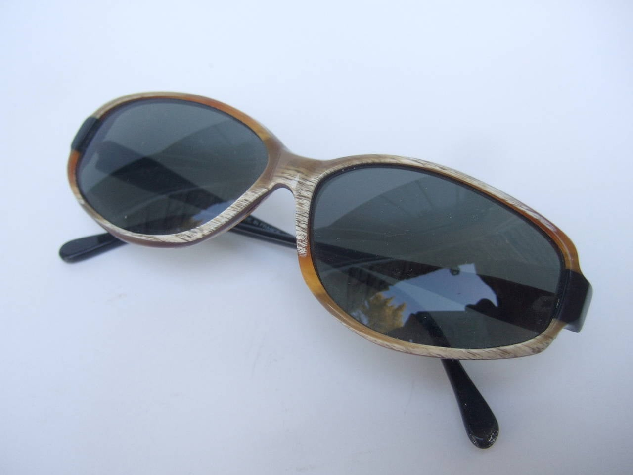Jean Patou Paris Stylish Sunglasses Made in France For Sale 3