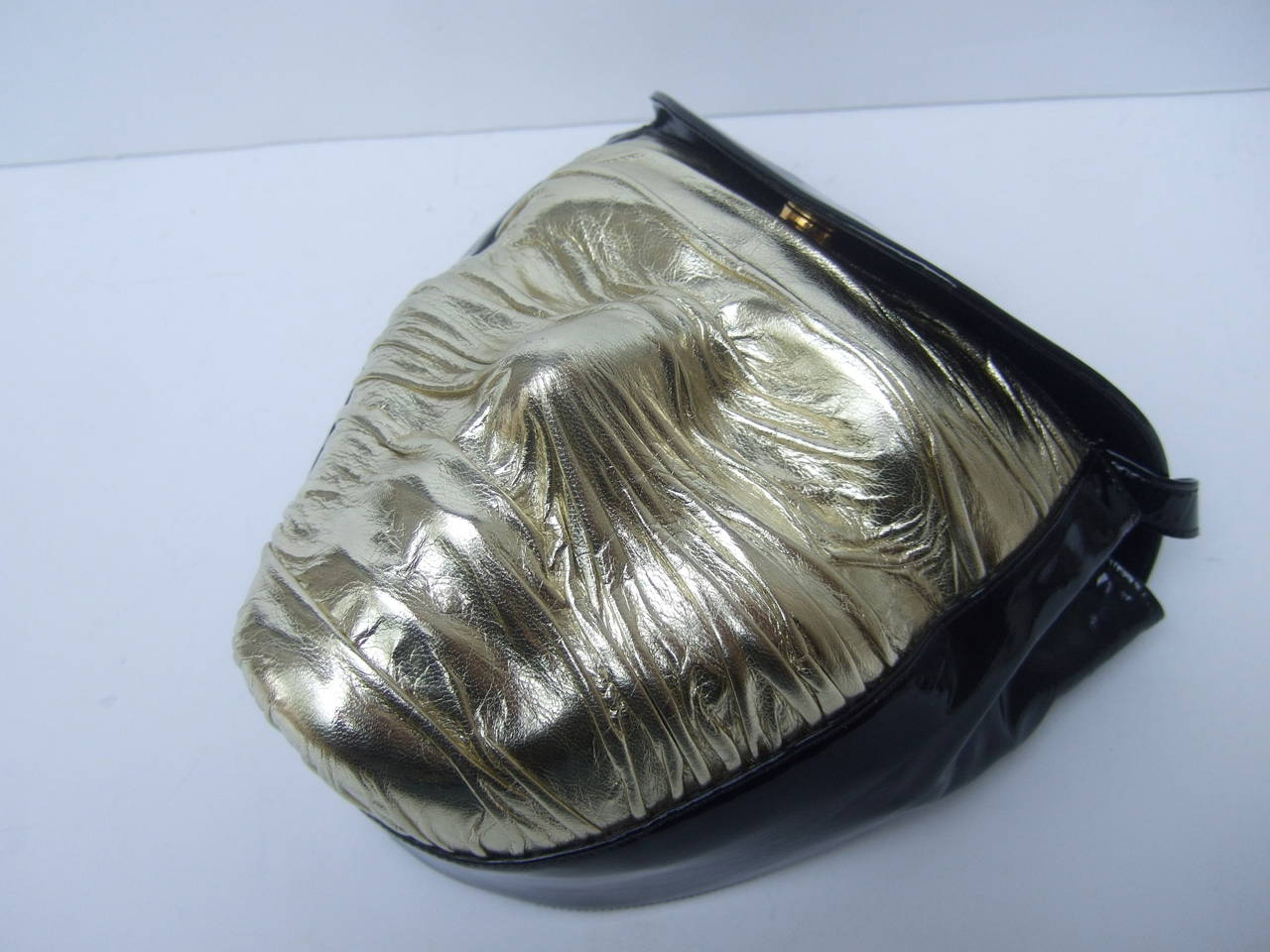 Charles Jourdan Paris Avant-Garde Mummified Handbag c 1980s For Sale 2