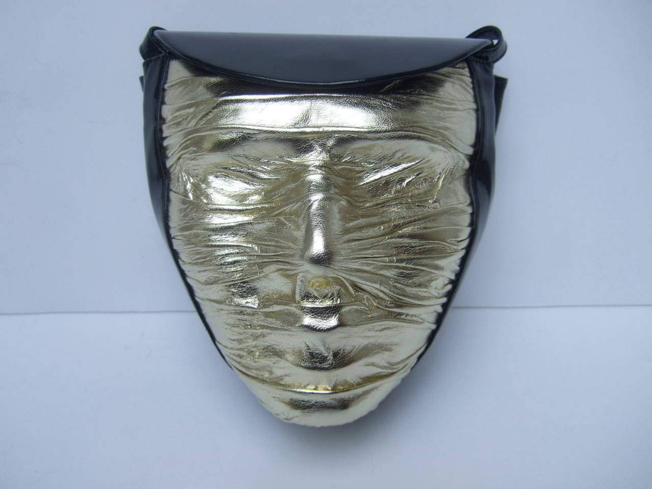 Charles Jourdan Paris Avant-Garde Mummified Handbag c 1980s For Sale 1