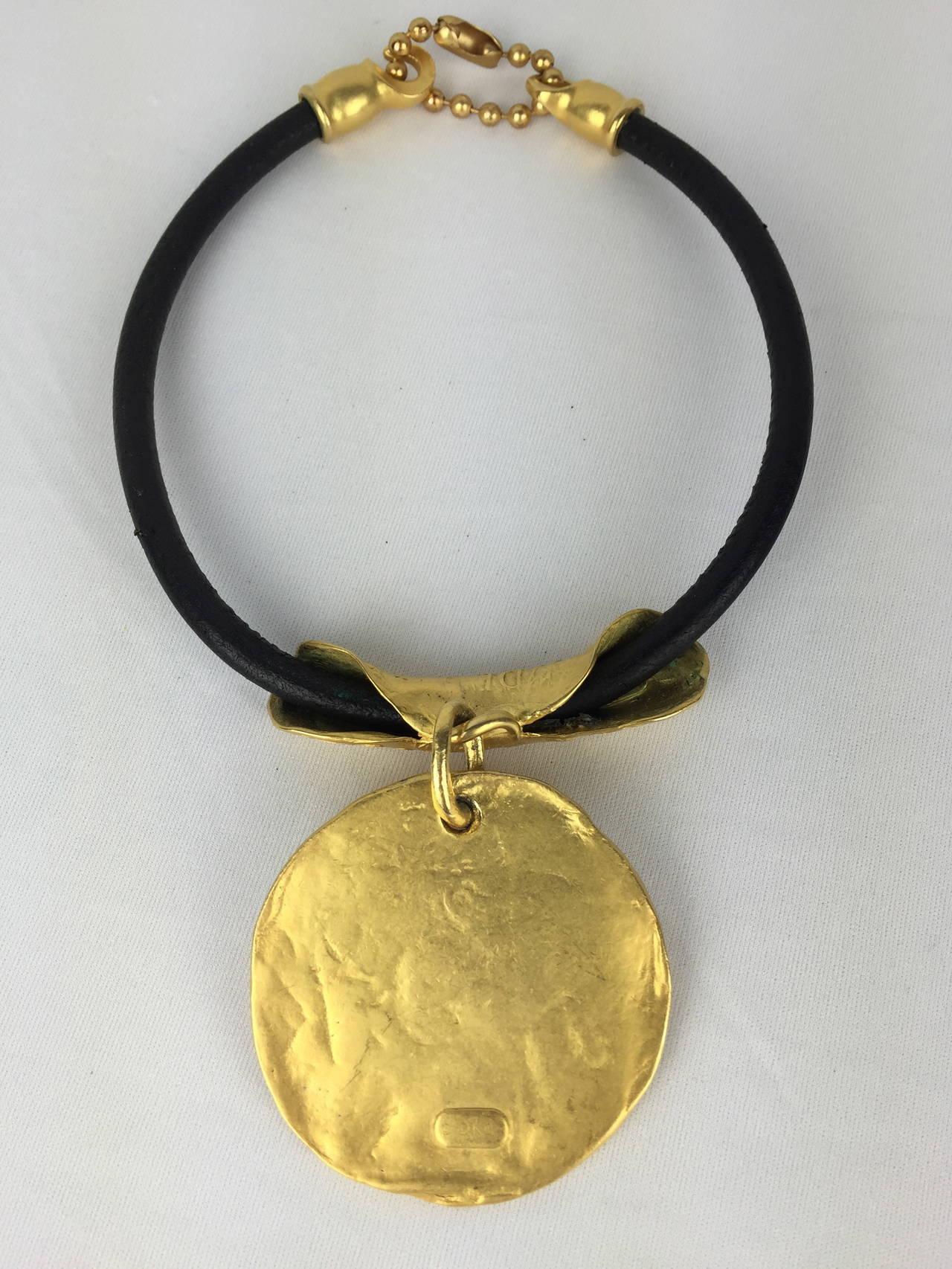 Bold Donna Karan 1980 S Vintage Necklace At 1stdibs