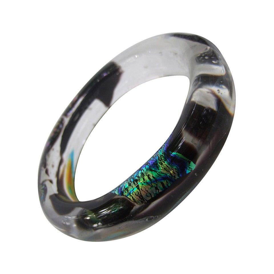 Blown Glass Cuff Bracelet