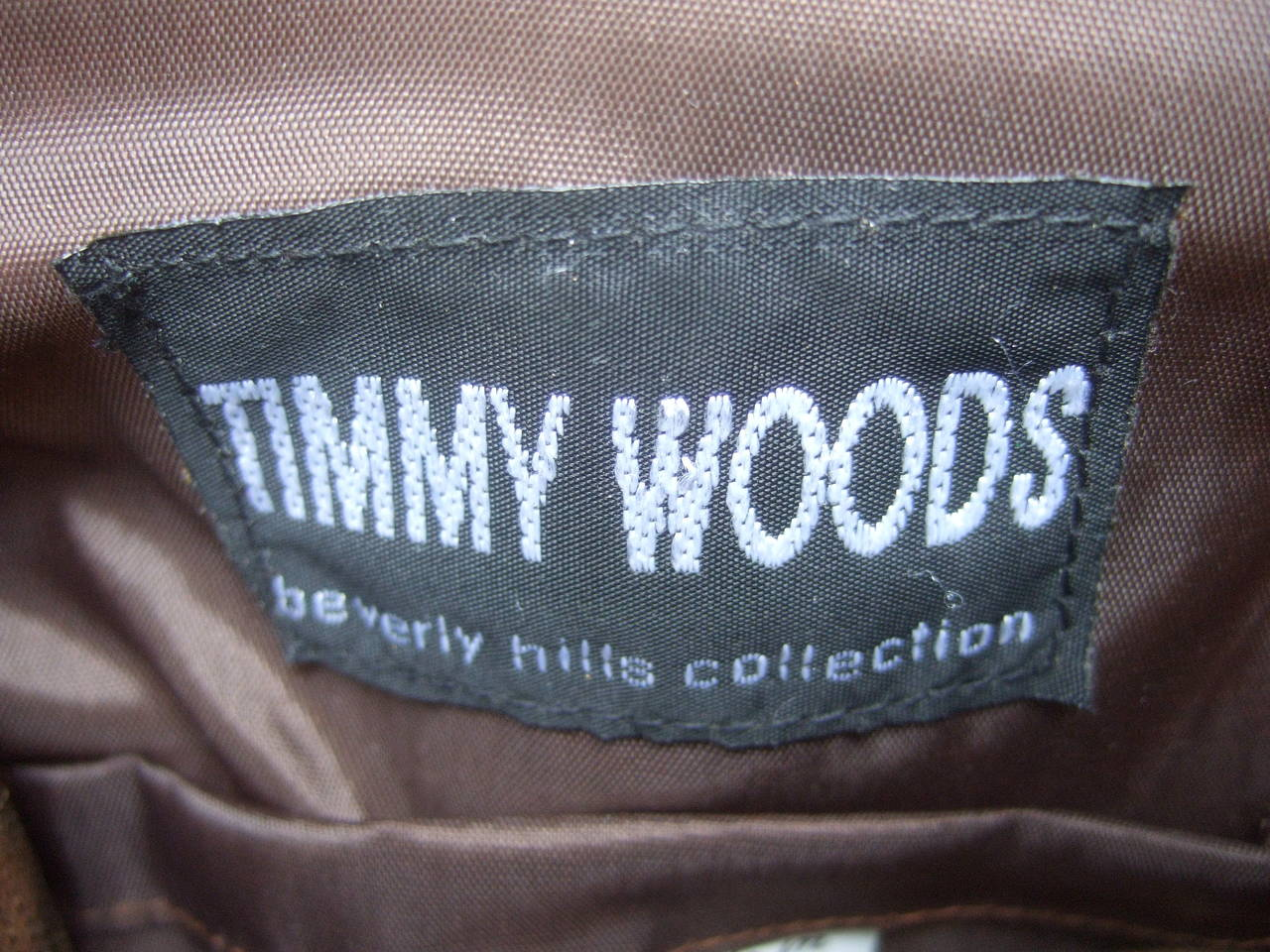 Timmy Woods Beverly Hills Artisan Wood Lion Handbag 6