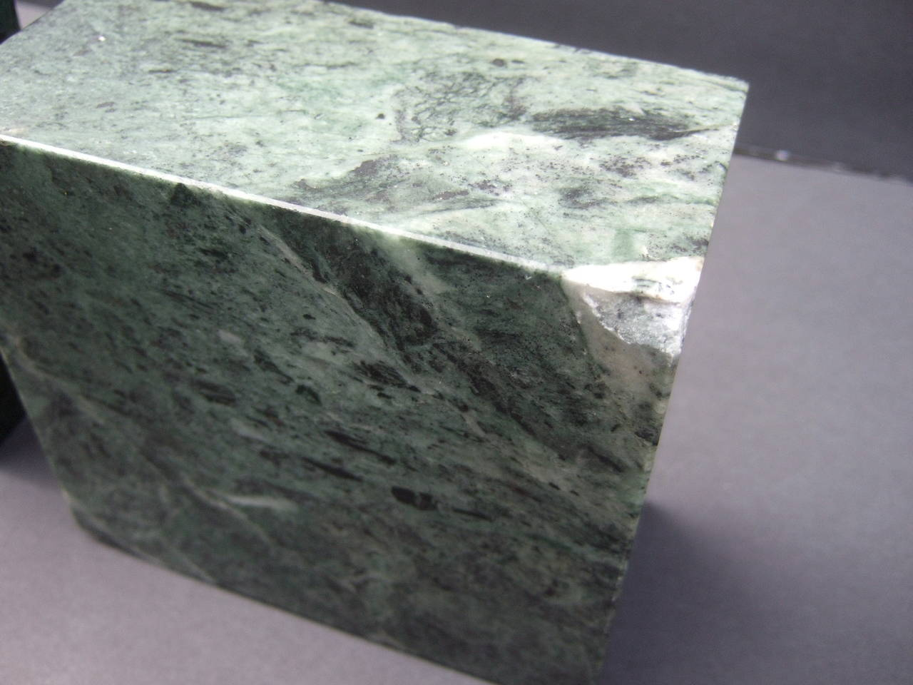 gucci rare green marble display bookends c 1980s at 1stdibs