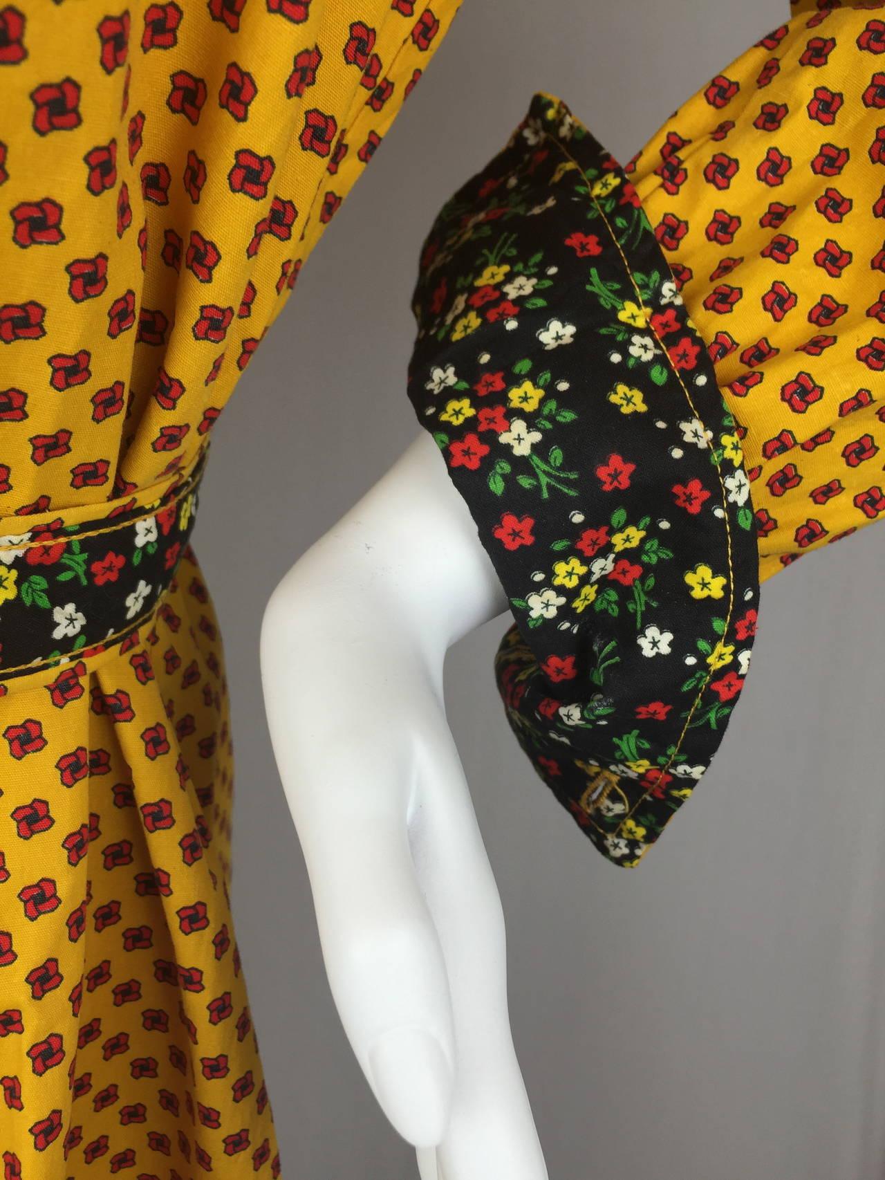 1970's Shirt Dress by Geoffrey Beene 3
