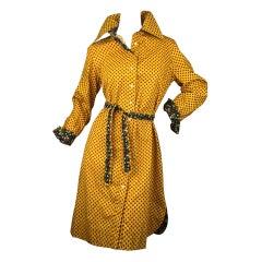 1970's Shirt Dress by Geoffrey Beene