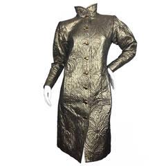 Exceptional Vintage Yves Saint Laurent Evening Coat.