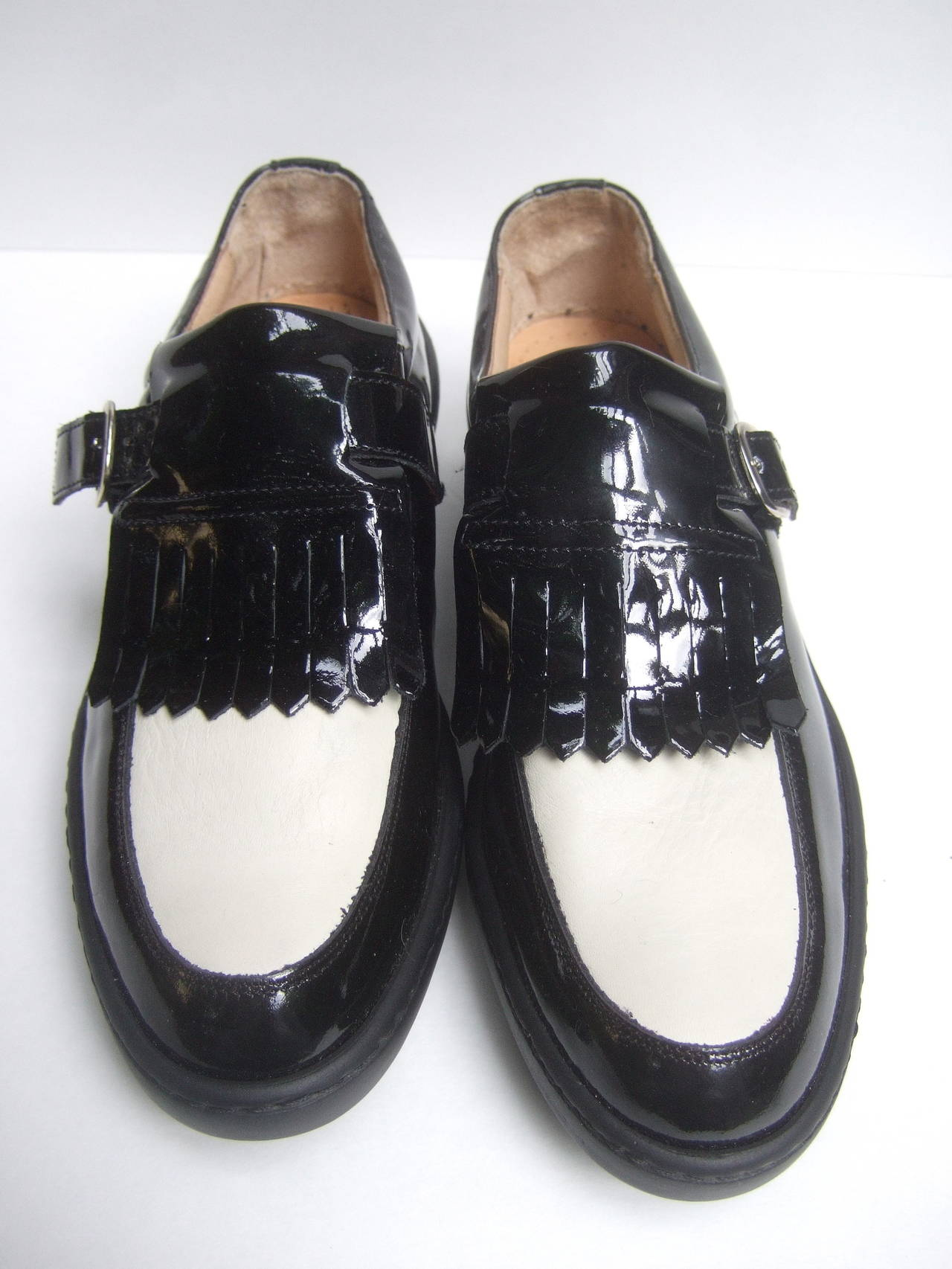 Women S Italian New Patent Leather Brogue Golf Shoes Us