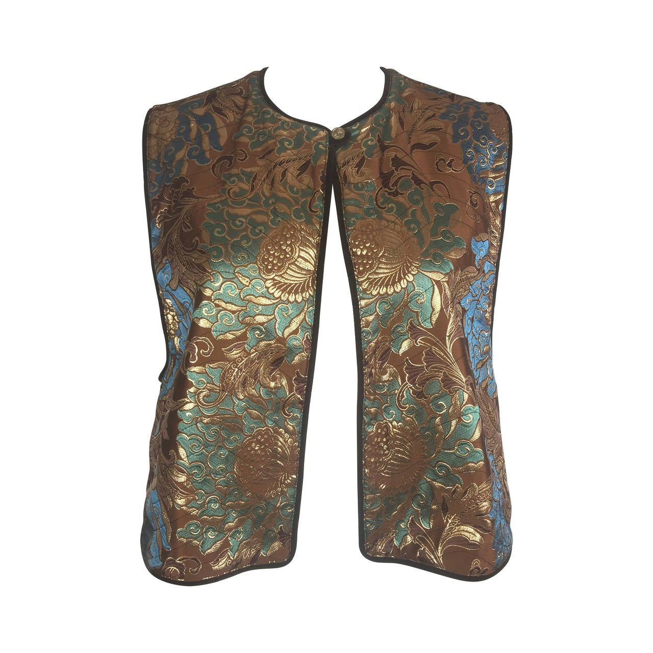 Rare Roberta di Camerino Vintage Waistcoat/Vest.