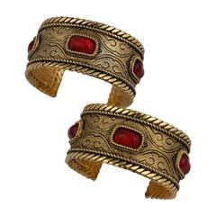 Chanel Byzantine Cuffs
