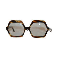Riviera Huge Thick Tortoise Shell Glasses with Original Tags