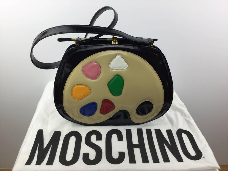Fabulous Moschino bag made in Italy by Redwall. 