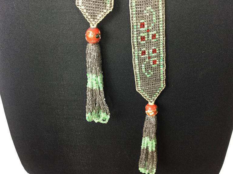 1920's Seed Bead Flapper Belt/Sautoir Necklace. Art Deco. 5