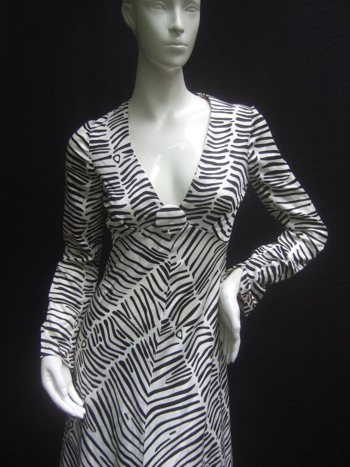Fabulous Stephen Burrows Silk Gown 1970 S Georgio Of