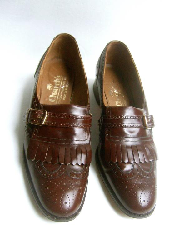 Church S London Classic Men S Brown Leather Brogue Loafers