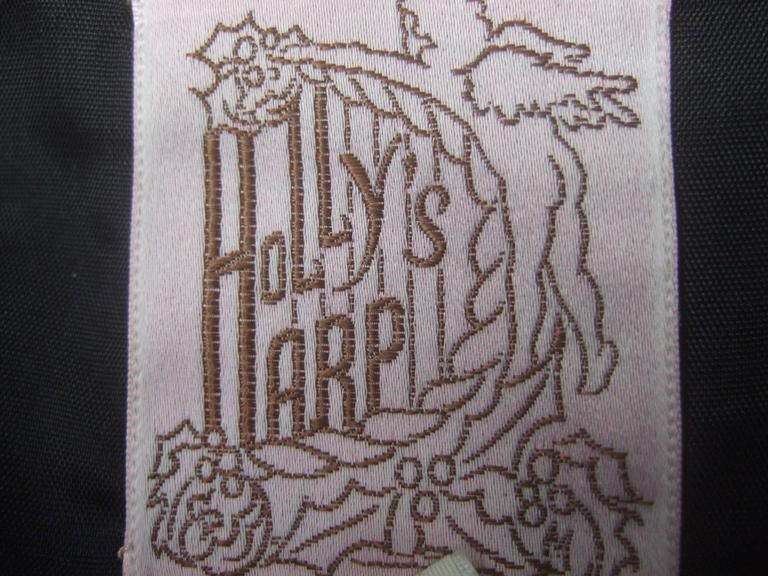 Holly Harp Rare Crinkled Taffeta Fitted Jacket c 1970s  For Sale 5