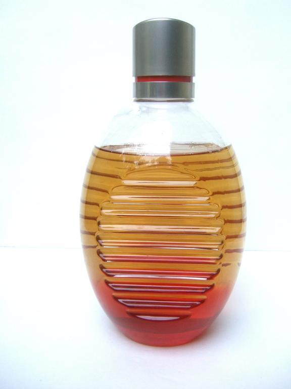 Lacoste Huge Glass Fragrance Factice Display Bottle  For Sale 2