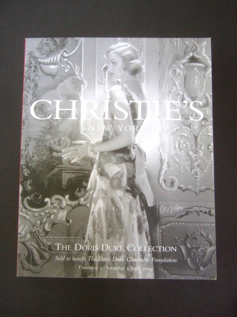 Christie S Doris Duke Estate Catalogues In Box 2004 At 1stdibs