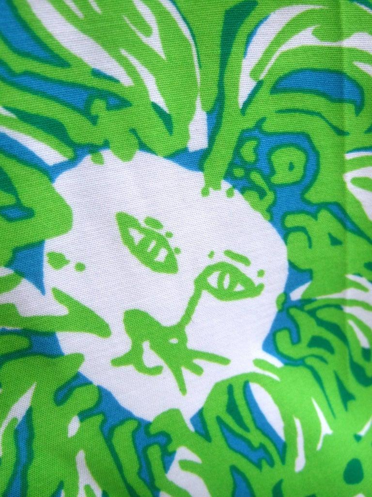 Lilly Pulitzer Women's Vibrant Tiger Print Slacks US Size 6  For Sale 8