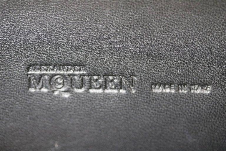 Alexander McQueen The Skull Swarovski Crystal Embellished Box Clutch For Sale 3