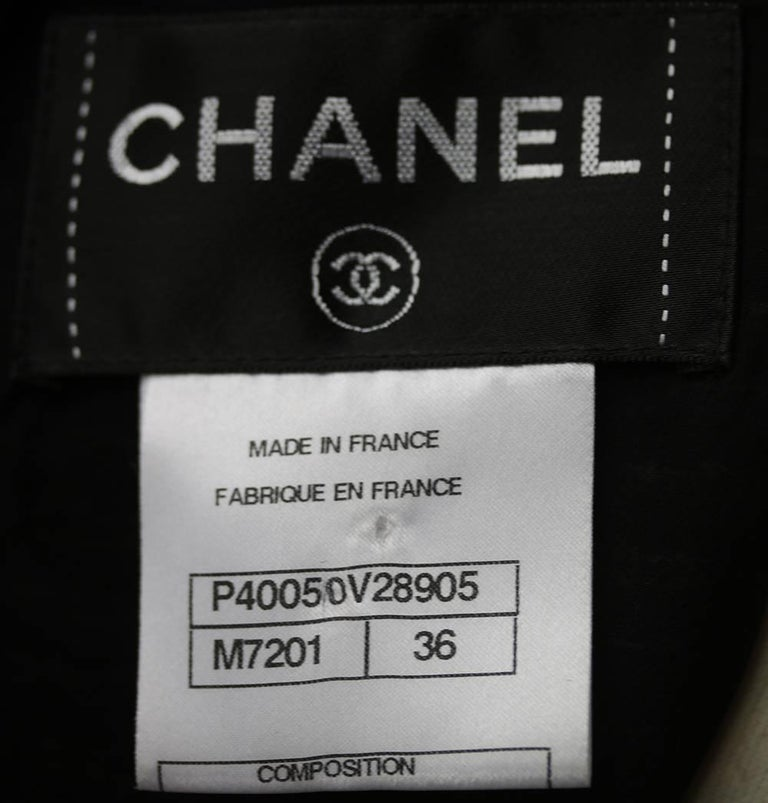Chanel Wool Tweed Mini Dress For Sale 1