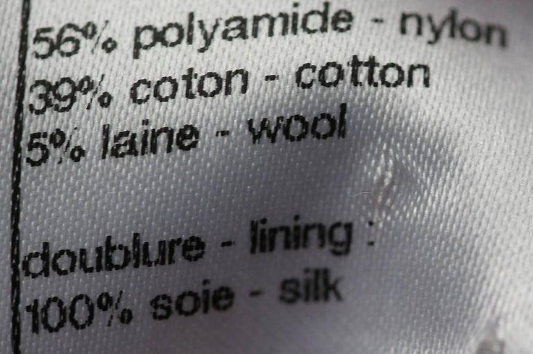 Chanel Wool Tweed Mini Dress For Sale 2