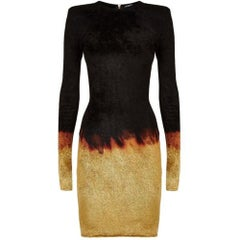 Balmain Chenille Ombre Sheath Dress