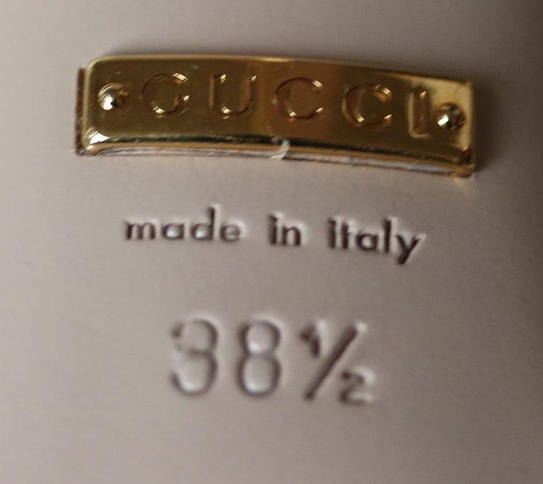 Gucci Crystal Hand-Applique Embellished Sandals  For Sale 2