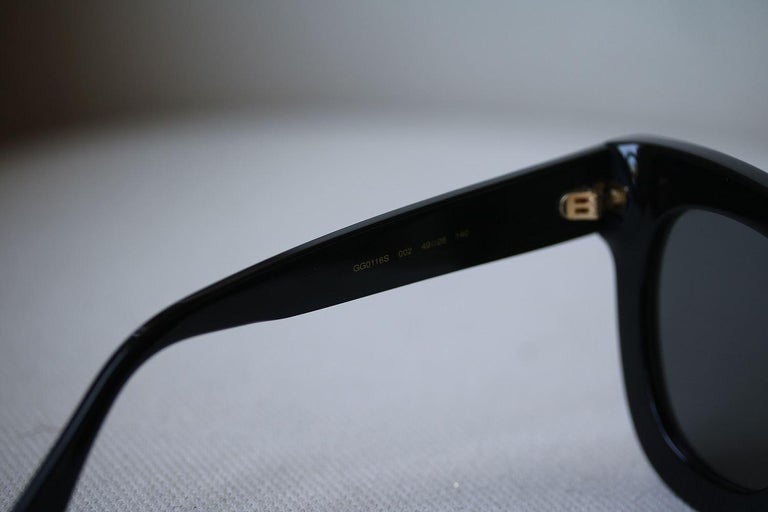 a324144b14 Gucci Cat Eye Acetate Sunglasses with Stars at 1stdibs