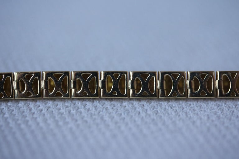 Women's Anita Ko Yellow Gold Diamond Luxe Bracelet