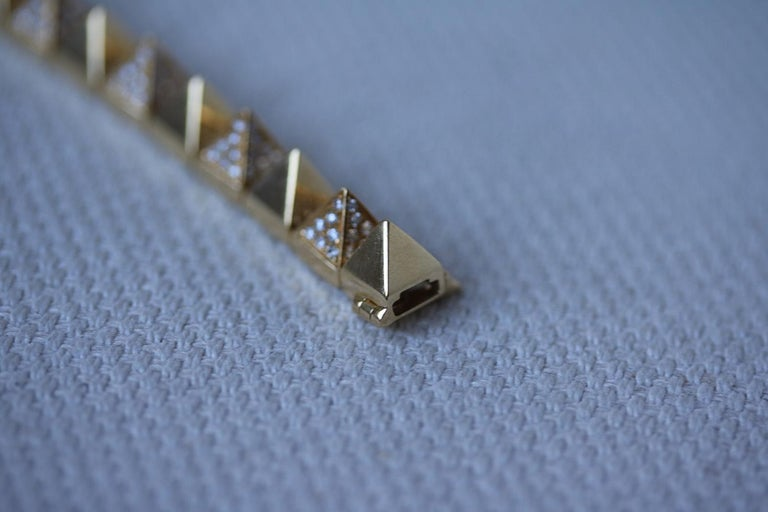 Anita Ko Yellow Gold Diamond Luxe Bracelet 2