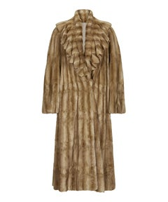 Fendi Sable Fur Long Coat