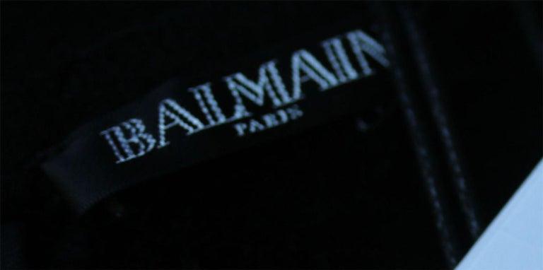 Women's Balmain Chenille Ombre Sheath Dress For Sale