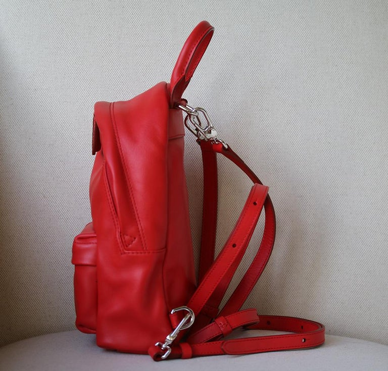 Red Givenchy Nano Leather Backpack For Sale d2c9f7ee17a6a