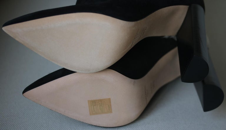 Women's Saint Laurent Tanger 105 Ikat Over-The-Knee Boots For Sale