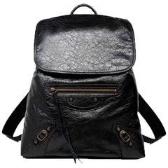 Balenciaga Classic Traveler Small Lambskin Backpack