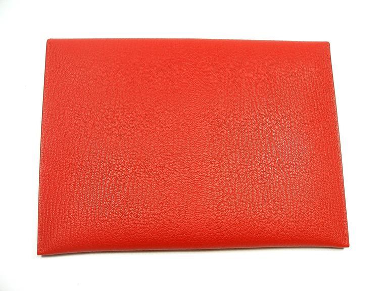 Hermès Enveloppe Trio wallet GM / Brand new  For Sale 3