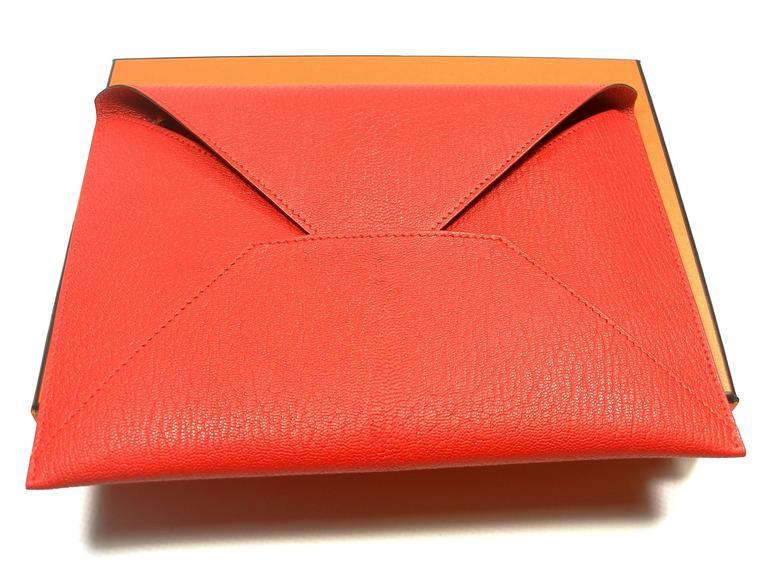 Hermès Enveloppe Trio wallet GM / Brand new  For Sale 5