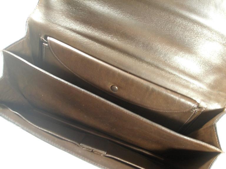 Hermès Ring croc Vintage Bag  4