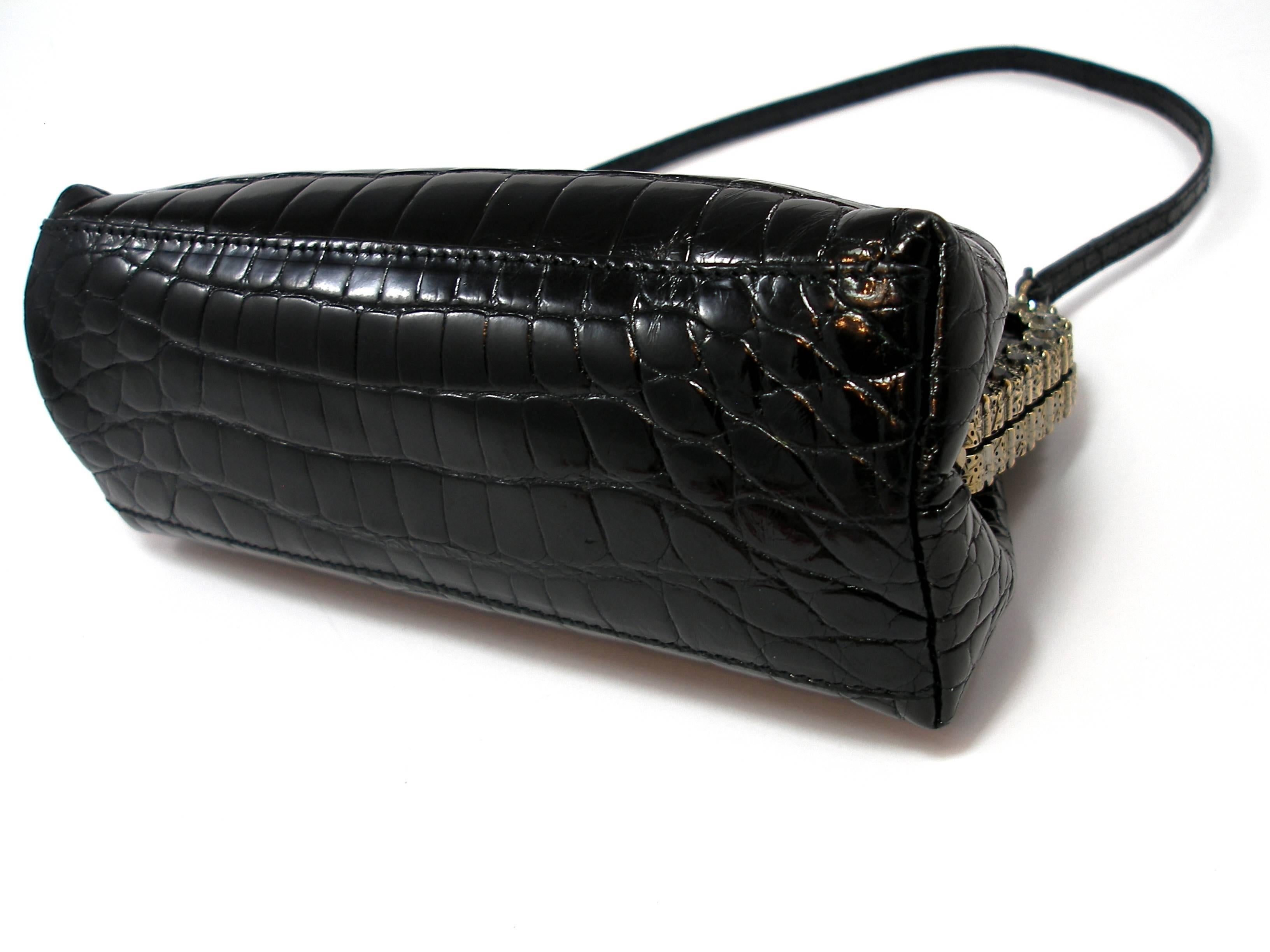 fd42b772ff Valentino Evening bag in Alligator and crystal / Edition Limited very rare