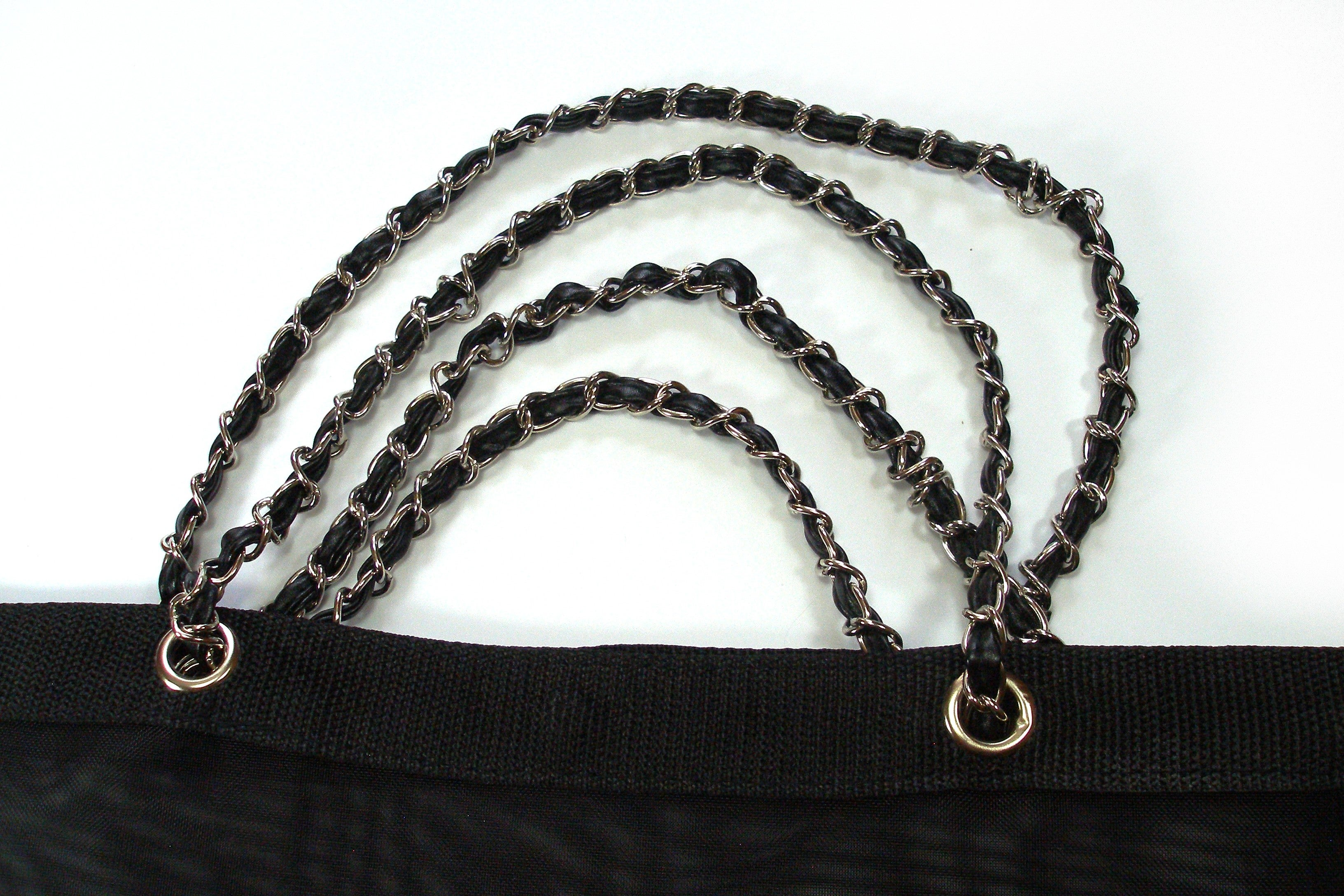 0c6cce019289cd CHANEL VIP Black Mesh Tote Bag Shopping Travel SHOPPER / BRAND NEW at  1stdibs