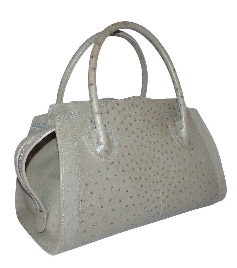 Wonderfull Jitrois Jean Claude Victoria Autruche Handbag