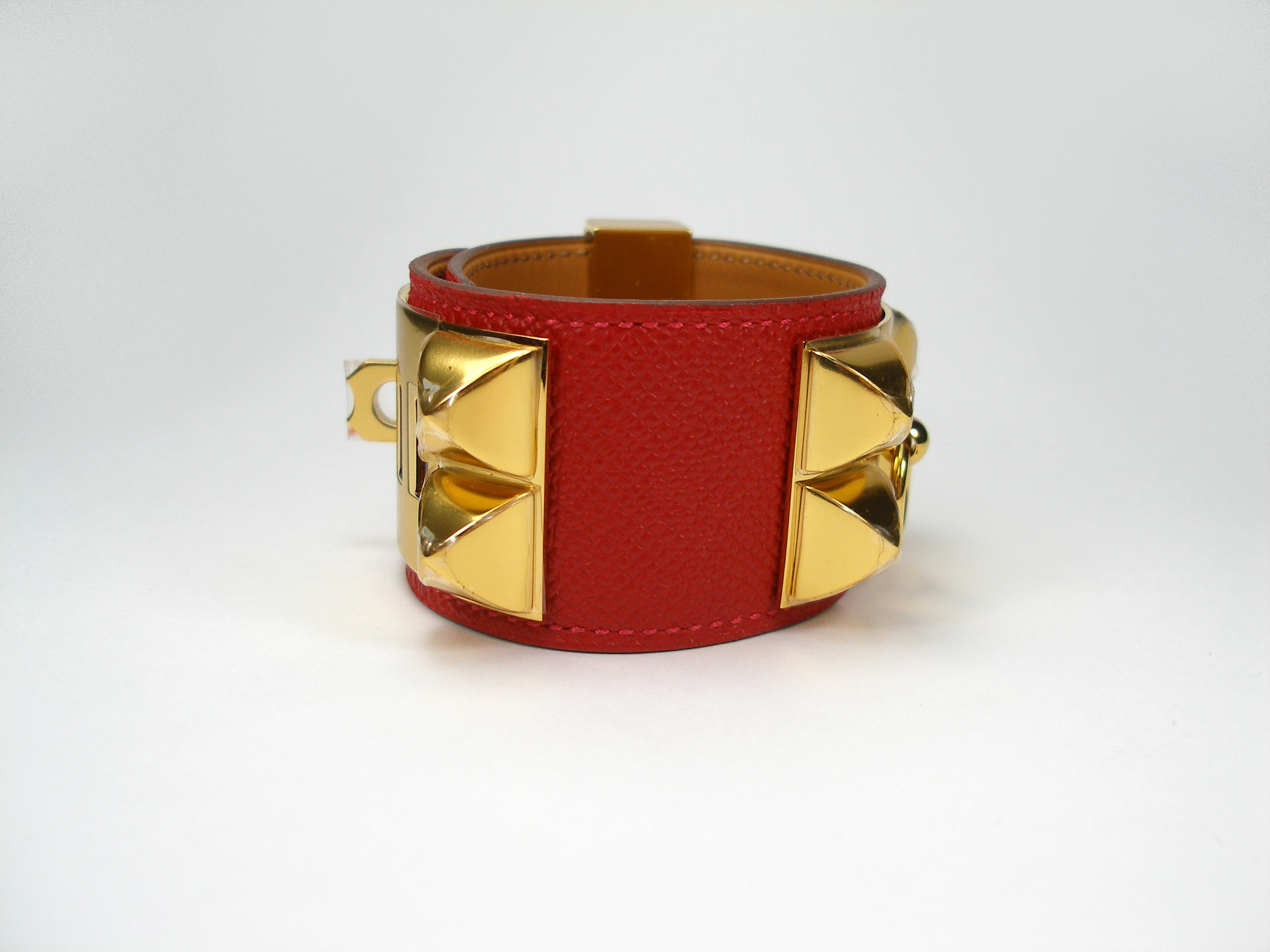 de loved bracelet pre orange cdc chien house of palladium collier leather boutique and hermes product vintage swift