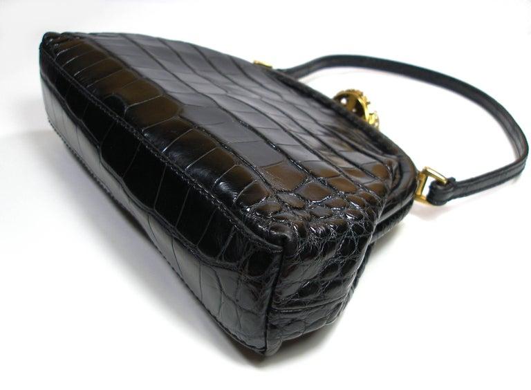 Valentino Rare Alligator And Swarovski Crystals Valentino Garavani Small Evening Handbag XfbLxjs