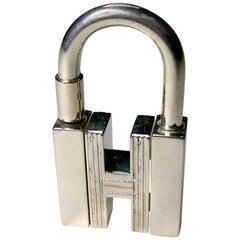 Hermès Cadenas Key Ring or Charm Bag H rotatif